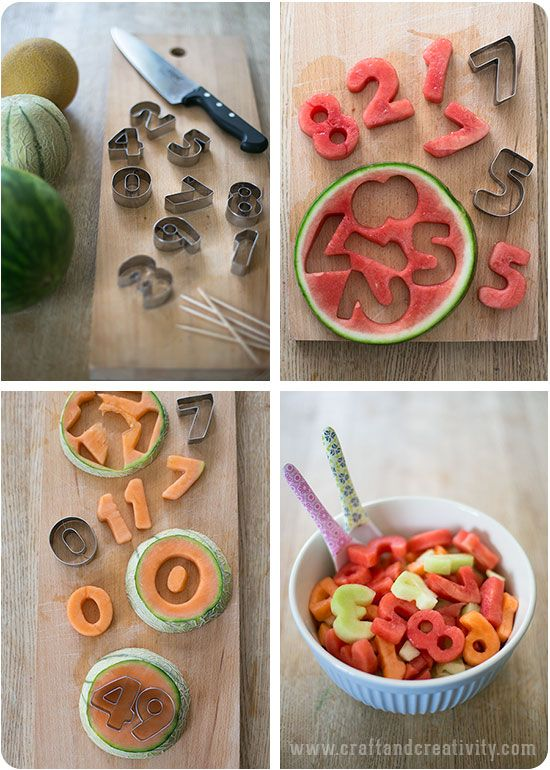 Refreshing melon cut outs - by Craft & Creativity