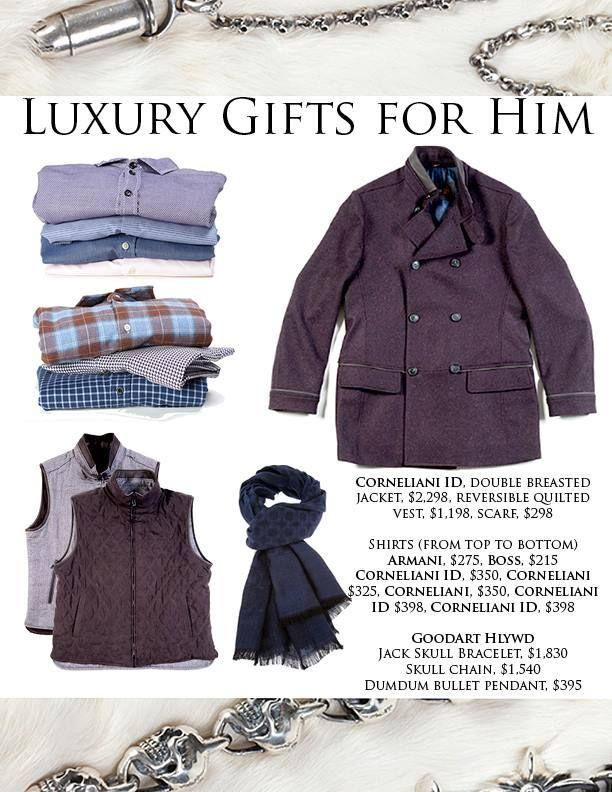 Shopping for the holidays? Come to #philip to find the best luxurious items from our Holiday Gift Guide. #hazeltonlanes #menswear #fashion #style #presents #Christmas #Holidays #Hanukkah #shopping #mostwonderfultimeoftheyear #inspiration  #like #loveit #luxury #Toronto #Yorkville #Hazeltonlanes #ootd #lookoftheday #luxury @GoodArtHlywd  @Corneliani @ARMANI Official