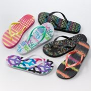 SO Zori Graphic Flip-Flops: Graphics Flip Flops, Fun Shoes, Summer Shoes, Zori Graphics, Graphics Flipflop, Shoes Obsession, Shoes Summer