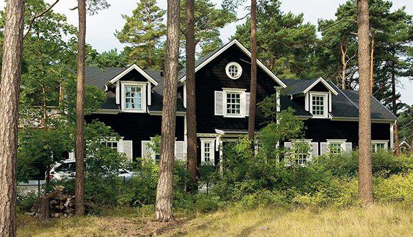 New England hus vid kusten #arkitektritat #newengland #premium #willanordic