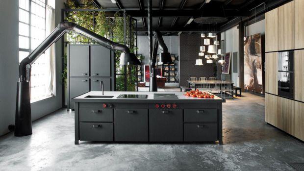 tuesday trending: industrial kitchen extractor fans | @meccinteriors | design bites