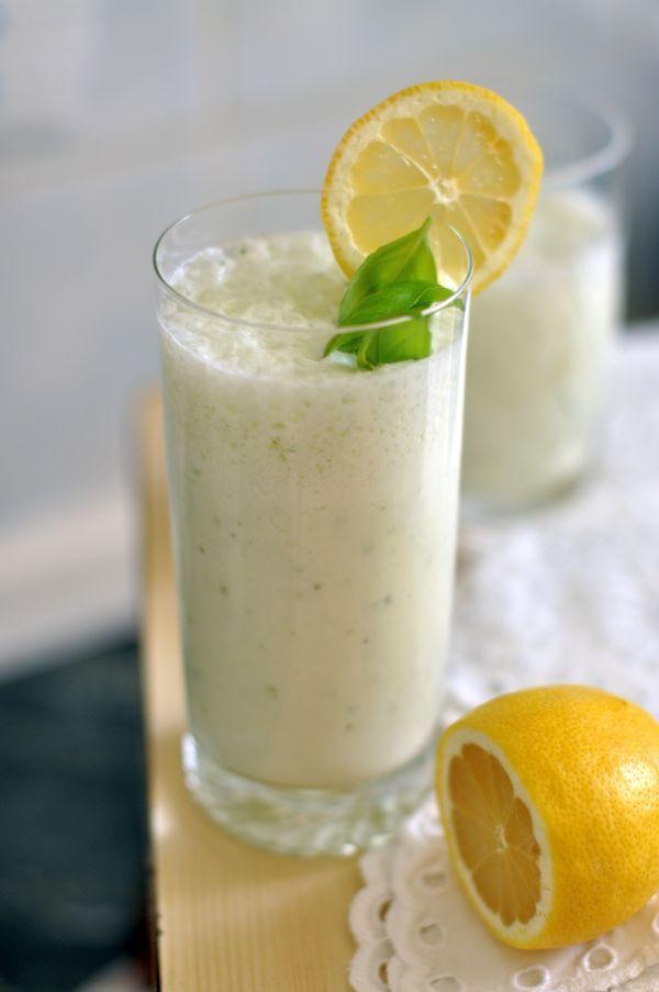 Frissítő citromos laktózmentes shake recept
