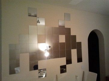 Space invaders mirror