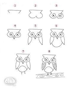 1000 ideas about hibou dessin on pinterest owls vecteur and dessin hibou. Black Bedroom Furniture Sets. Home Design Ideas