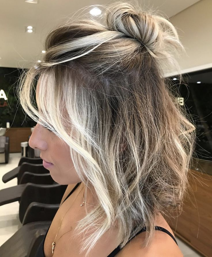 Frosted Blonde In 2019 Short Hair Styles Easy Hair
