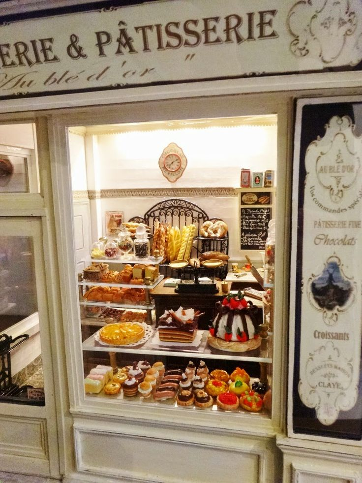 Boulangerie & Patisserie Re-pinned from minishops, cafes & studios by Daisy Jane