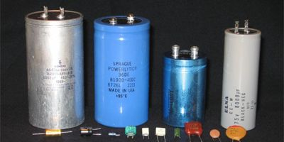 A capacitor consists of two conductors separated by a non conductive area, the non conductive region is known as the dielectric, in simpler terms, the dielectric is just an electrical insulator, examples of dielectric media are glass, air, paper, vacuum, and also a semiconductor depletion region chemically identical.