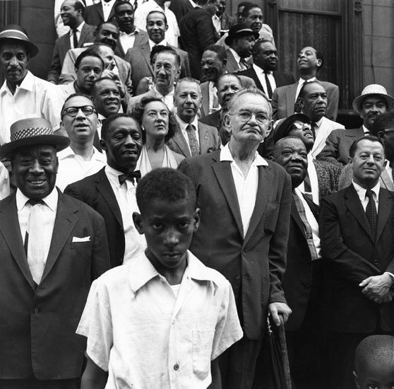 A great day in Harlem –Art Kane, 1958