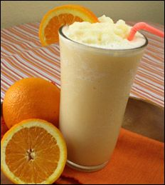 Hungry Girl Orange Dreamsicle, her recipes are so good and low fat!