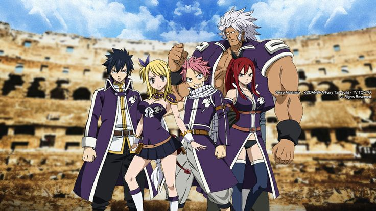 Fairy Tail (Season 4) | Animax Asia one of the best Animes is back! can't wait for the episode which is 365 in the manga hh :)