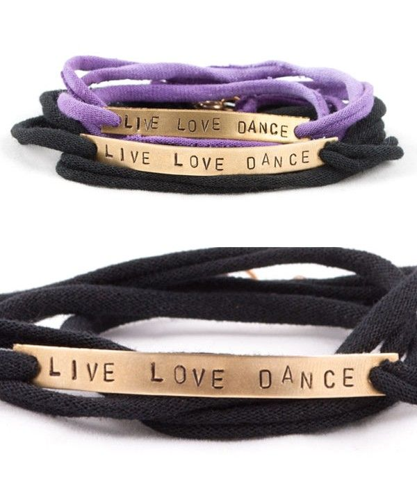 """OMG we're addicted to any accessory wiht """"dance"""" on it LOL."""