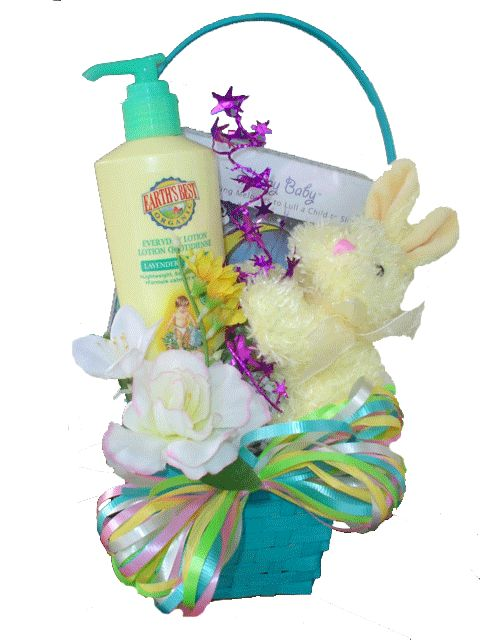 14 best healthy easter basket gift ideas images on pinterest easter dreams easter basket for babies bottle gift basket negle Image collections