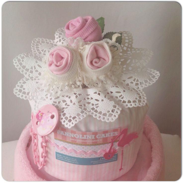 #diapercake #torta di pannolini #pampers