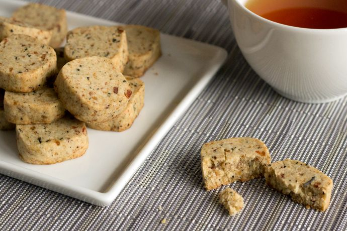 Step-by-Step Recipe: Maple Bacon & Lapsang Souchong ShortbreadCookies - Home - Oh, How Civilized