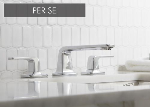 """Per Se CollectionsPer Se is a faucet collection that embodies slender, soft modern minimalism. Meaning """"in itself,"""" Per Se embraces its name with an aesthetic that has an intuitively beautiful base form and is welcoming with thoughtful composition. View Per Se and Per Se Decorative"""