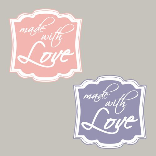 Freebie, Made with Love, handmade, Stampin´Up! Printable, Designeretikett, Stanze, Stempeln, Craft, basteln, pattern, punch, stampin https://www.facebook.com/Colorspell