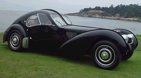 the most expensive car called the bugatti type 57sc atlantic according to re. Black Bedroom Furniture Sets. Home Design Ideas