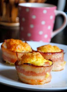 Bacon Wrapped Muffin Recipe
