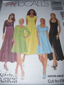 McCALL S #8841 - LADIES DAY or EVENING ~ SUMMER or WINTER DRESS PATTERN  4-18 uc | eBay