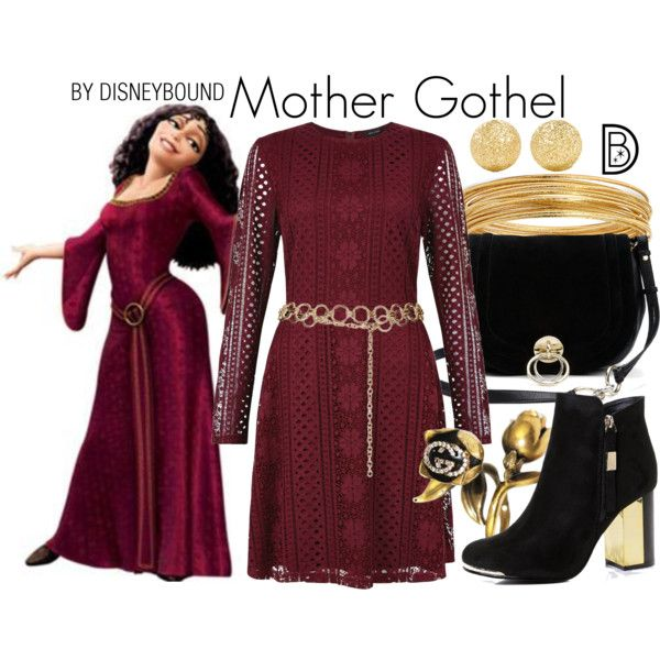 Disney Bound - Mother Gothel
