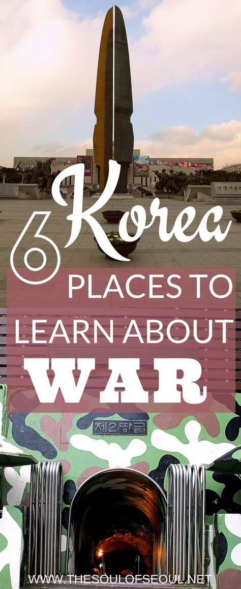 6 Places To Learn About War In Korea: Learning from history so that we do not repeat it. 6 places in Korea to learn about war and history from the comfort women to the DMZ. Where to go and what to see from Geoje Island to Seoul and the 38th parallel.