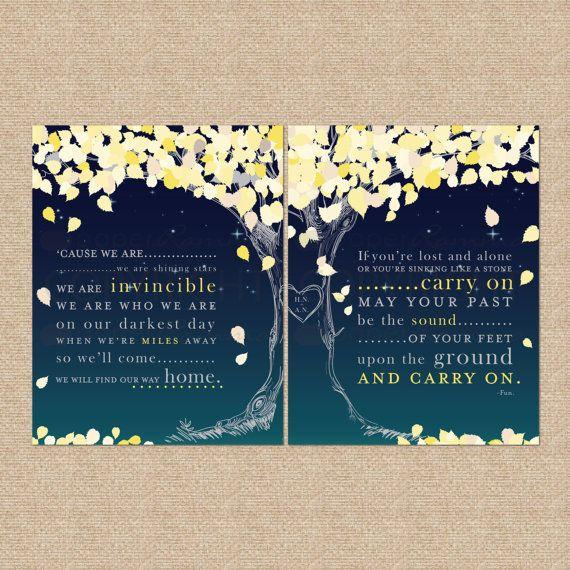 Wedding Song Lyrics Print