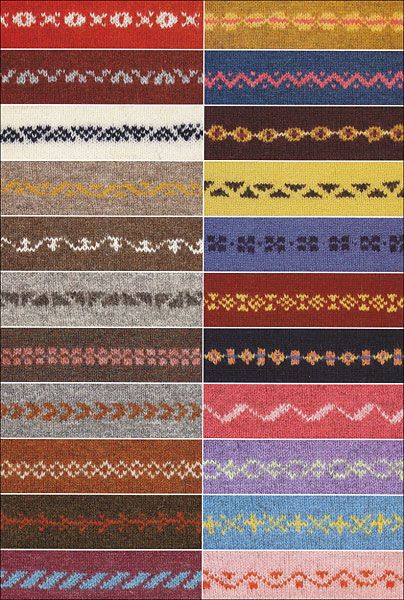 200 Fair Isle Motifs: A Knitter's Directory from KnitPicks.com Knitting by Mary Jane Mucklestone On Sale