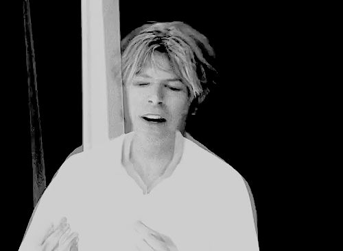 David Bowie in the Slow Burn music video, 2002