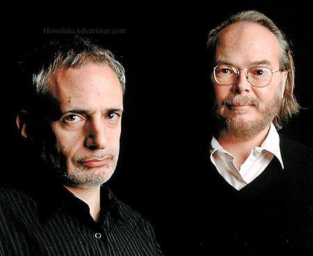 Steely Dan: Donald Fagen and Walter Becker. Both men are MOT.