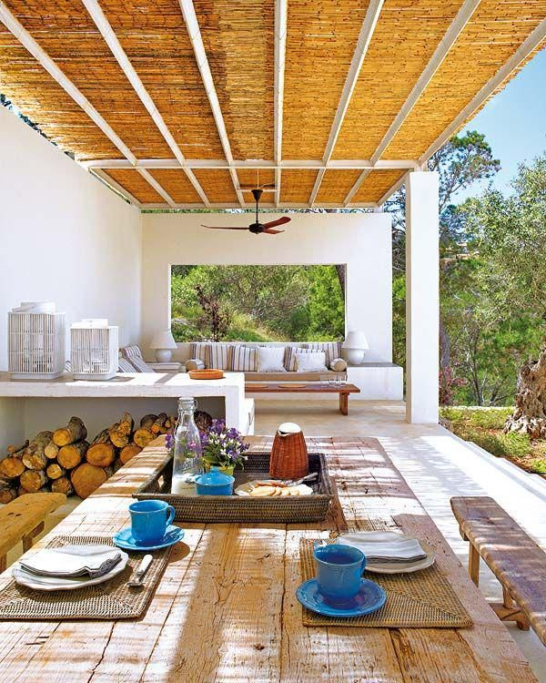 One Kindesign: Outdoor Rooms, Mediterranean Homes, Patio