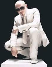 Pitbull rapper with braids