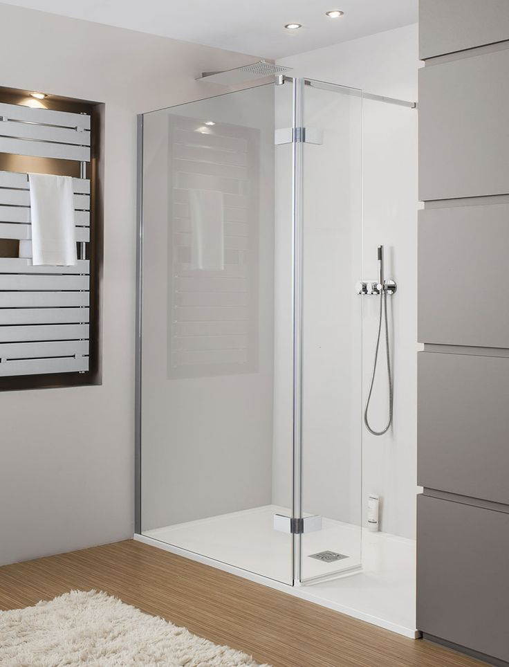 Elite Walk In Easy Access Shower Enclosure in Frameless | Luxury bathrooms UK, Crosswater Holdings