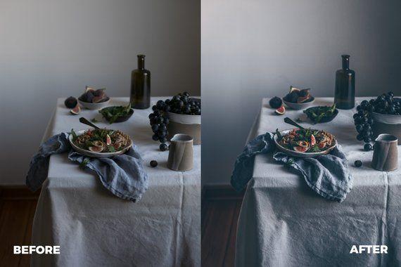 4 Moody Matte Lightroom Mobile Presets Desktop Mobile Lightroom Presets Blogger Instagram Presets Mobile Lightroom Mobile Instagram Lightroom Lightroom Presets Matte Lightroom