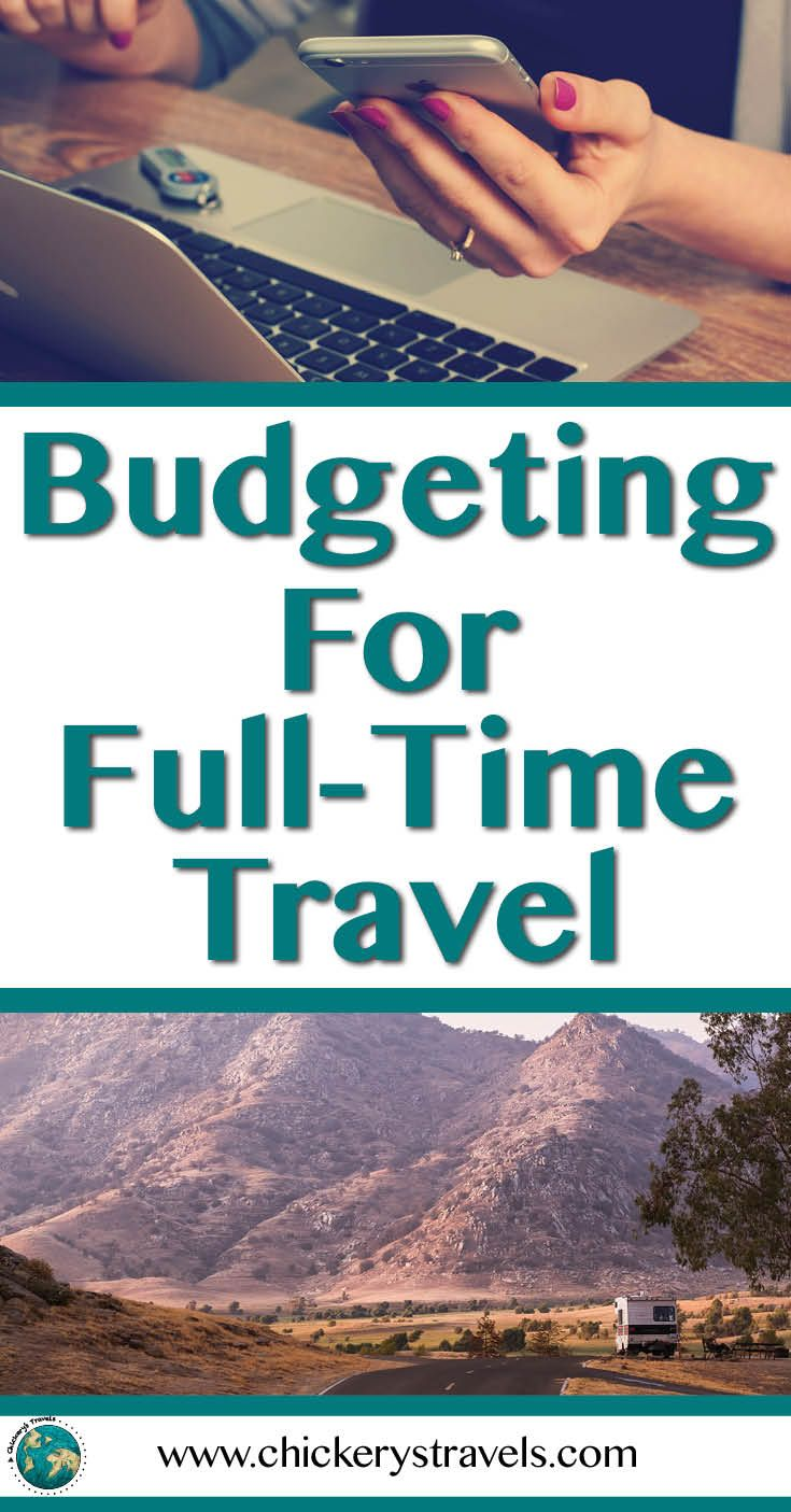 Learn the tips and tricks to fulfill your wanderlust and budget for full-time travel. RV travel in Motorhomes, Fifth Wheels, and Travel Trailers is a great way to visit all the places on your bucket list on any budget. We'll even show you how save money while having adventures at all the top vacation spots by traveling by RV. #RVtravel #RVliving #camping