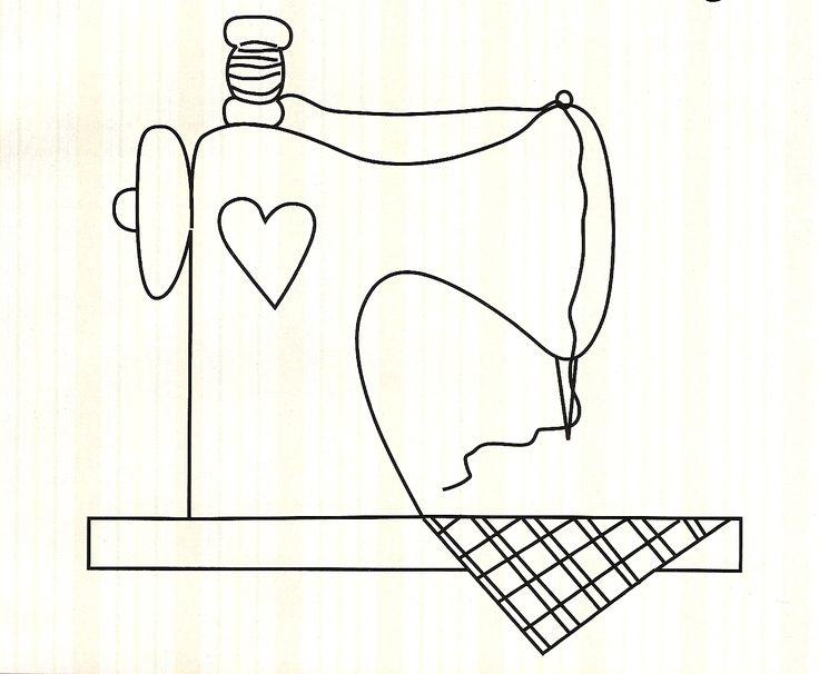Maripê: Moldes de máquina de costura