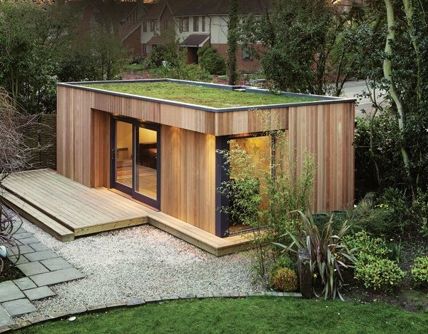 Find Your Perfect Garden Room! Love the roof garden/lawn