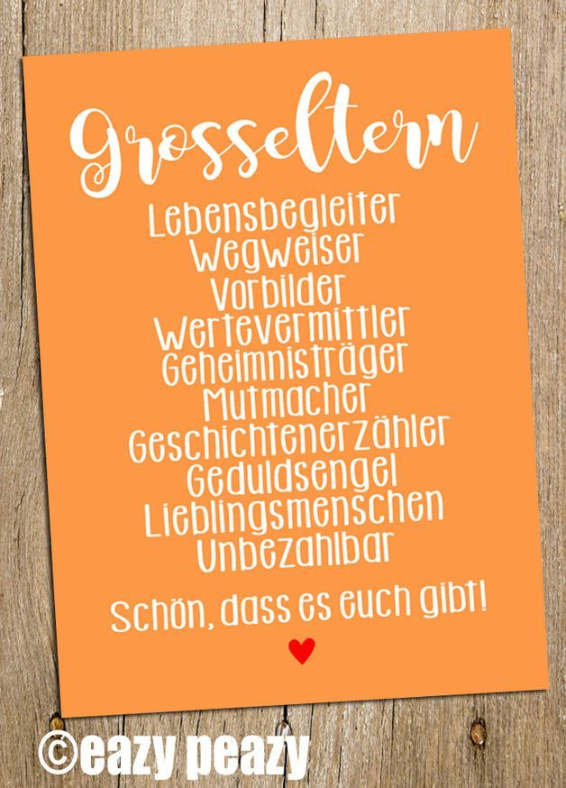 Schule Grosseltern Postkarte Muttertag Vatertag