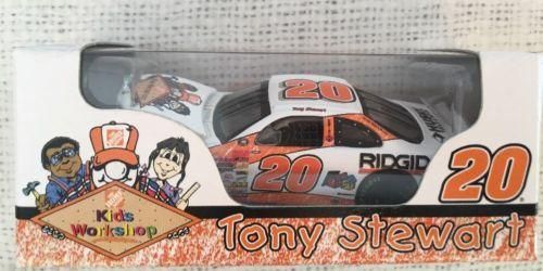 Action Kids Tony Stewart #20 Home Depot Kid's Workshop 2000 Grand Prix 1:64 NIP
