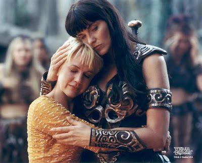 cotibluemos: NBC prepara el reboot de 'Xena: La princesa guerre...