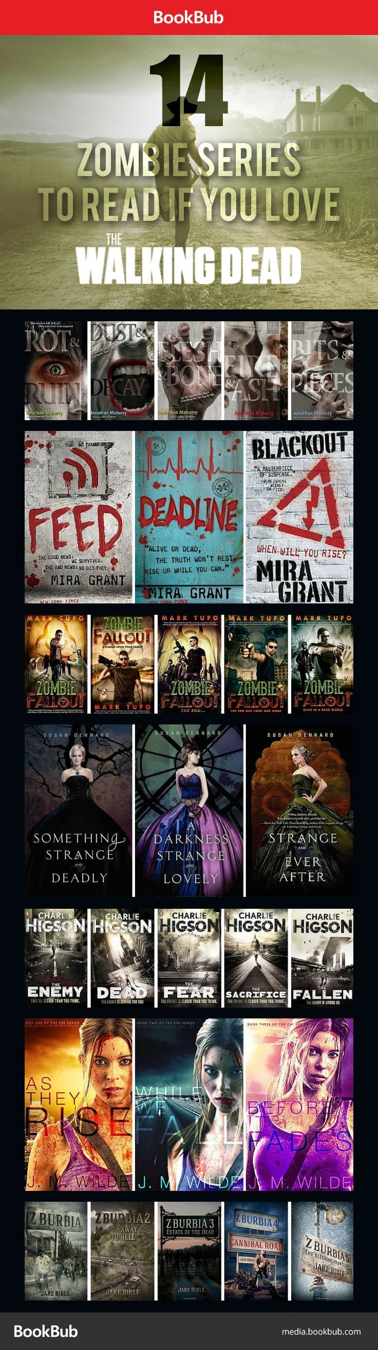 14 Zombie Series to Read If You