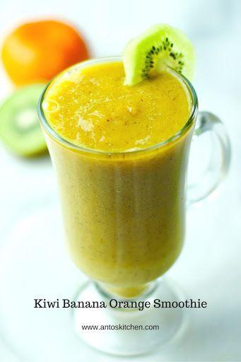 Kiwi smoothie - a healthy smoothie