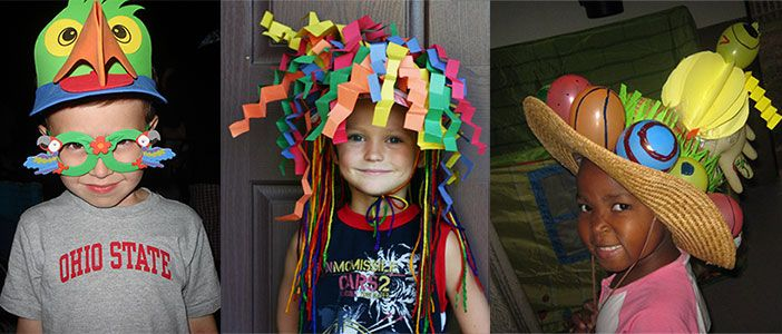 Crazy Hat Ideas For Crazy Hat Day Crazy hat day at camp