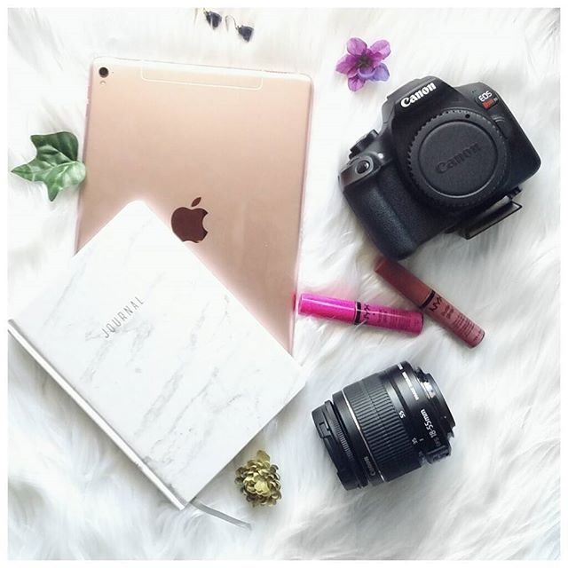 Ahhhh... I feel like I'm really getting equipped with everything I need to grow my blog and YouTube channel. 😍 My precious husband bought my birthday present a whole month early and I am so very grateful... learning how to use the Canon now. I'm so looking forward to sharing pieces of my brain with you. Lol