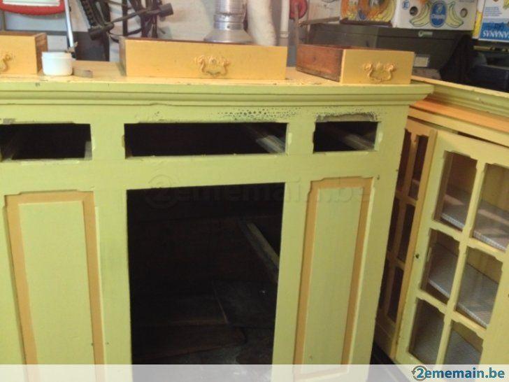 Meuble/armoire en bois, vitrine de salle à manger, rustique - A vendre