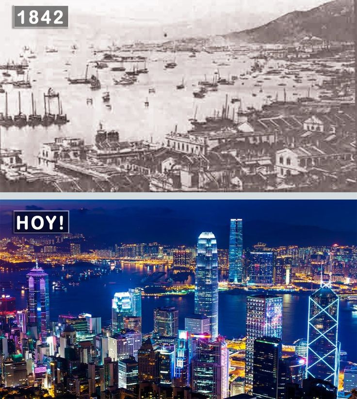 Amazing Hong Kong: Hong Kong, China - 1842 And Now.