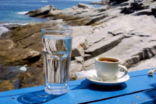 Greek coffee at the beach by ~papadimitriou on deviantART