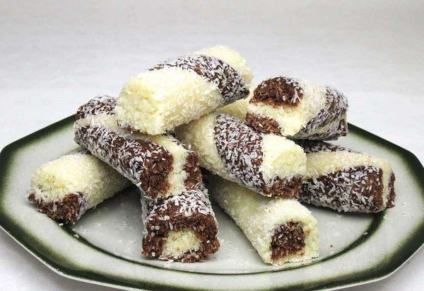 Kokosové tyčinky (bez pečenia)