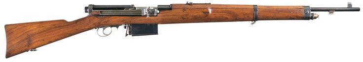 Scarce Swiss Model 1908 Mondragon Semi-Automatic Rifle