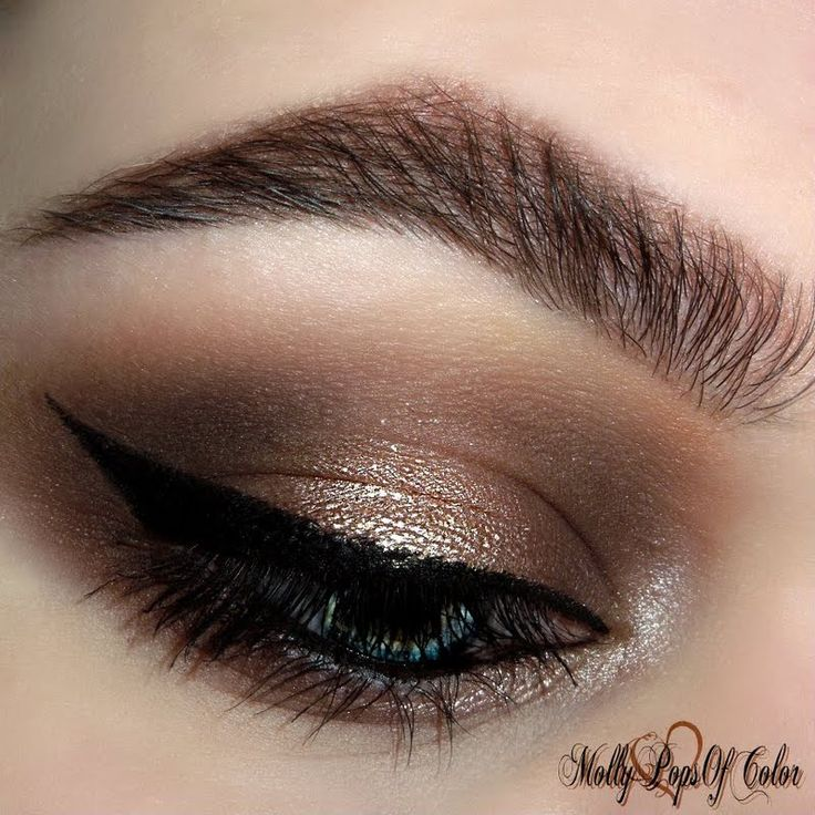 @MolyPopsOfColor brings IT on her smokeyeye: SHIMMER using @ITCosmetics gifted makeup!