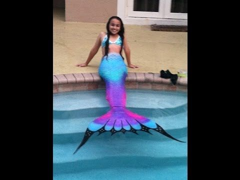 Swim Like a Mermaid this Summer with Swimmable Mermaid Tails ...